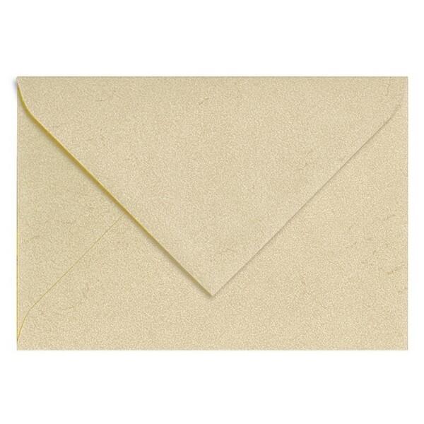 Artoz Rustik - 'White' Envelope. 191mm x 135mm 110gsm E6 Gummed Envelope.