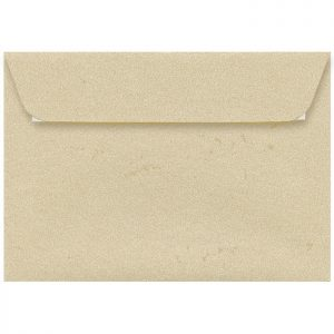 Artoz Rustik - 'White' Envelope. 229mm x 162mm 110gsm C5 Peel/Seal Envelope.