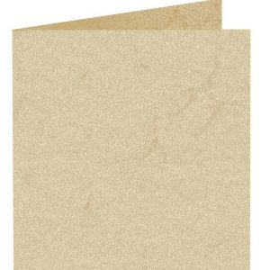 Artoz Rustik - 'White' Card. 310mm x 155mm 190gsm Square Folded Card.