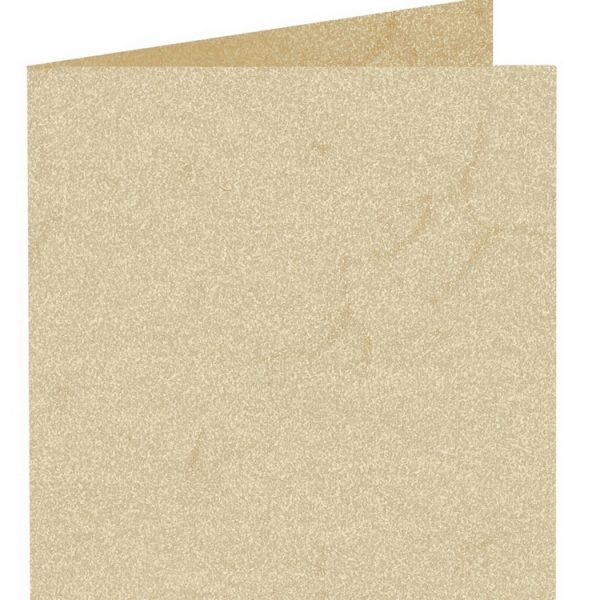 Artoz Rustik - 'White' Card. 310mm x 155mm 190gsm Square Folded Card.
