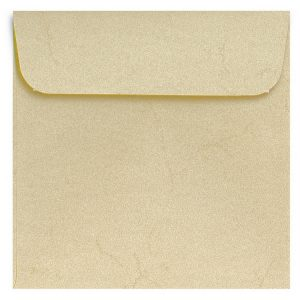 Artoz Rustik - 'White' Envelope. 160mm x 160mm 110gsm Square Peel/Seal Envelope.