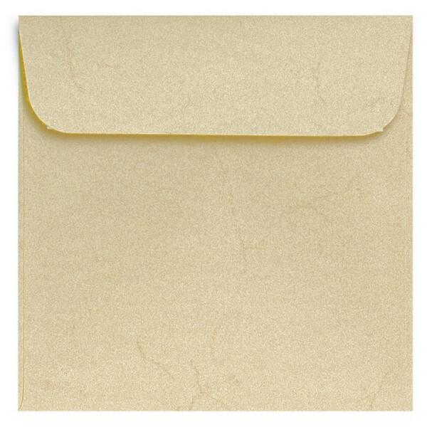 Artoz Rustik - 'White' Envelope. 160mm x 160mm 110gsm Square Peel/Seal Envelope.