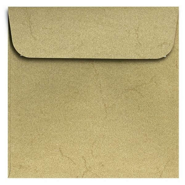 Artoz Rustik - 'Cream' Envelope. 160mm x 160mm 110gsm Square Peel/Seal Envelope.