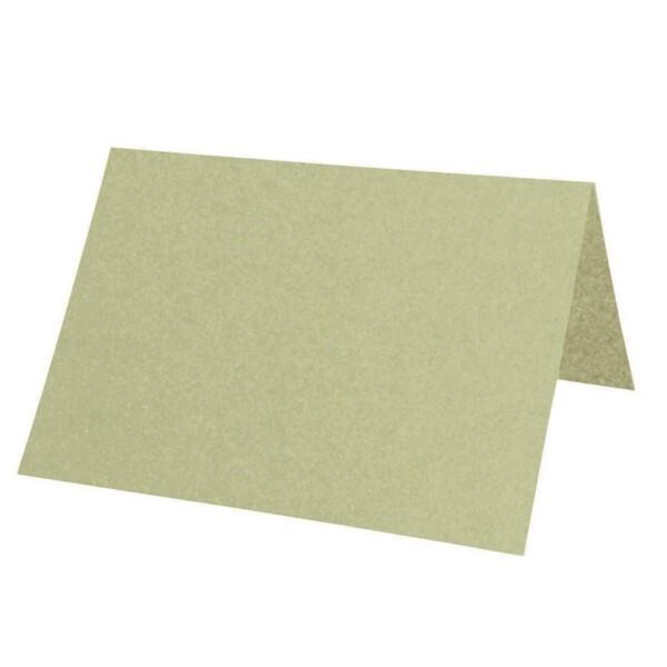 Artoz Perle - 'Pistachio' Paper. 100mm x 90mm 120gsm Place Card Paper.