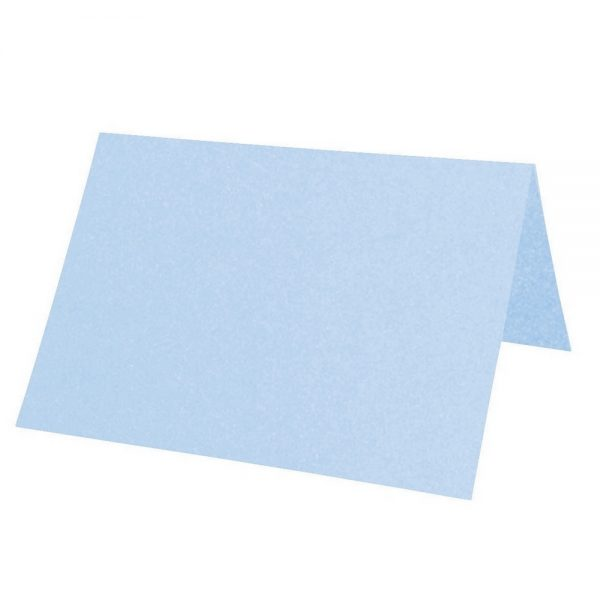 Artoz Perle - 'Water Blue' Paper. 100mm x 90mm 120gsm Place Card Paper.