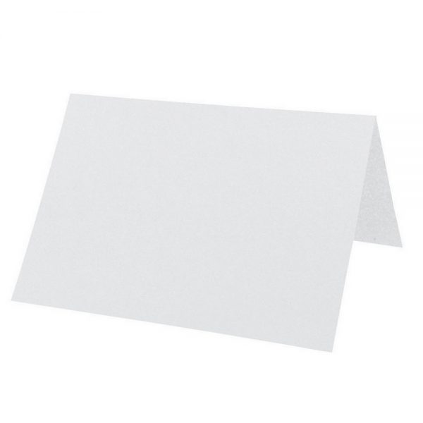 Artoz Perle - 'White' Card. 132mm x 103mm 250gsm A7 Place Card.