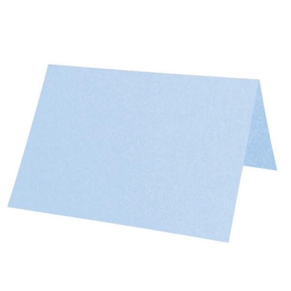 Artoz Perle - 'Water Blue' Card. 132mm x 103mm 250gsm A7 Place Card.