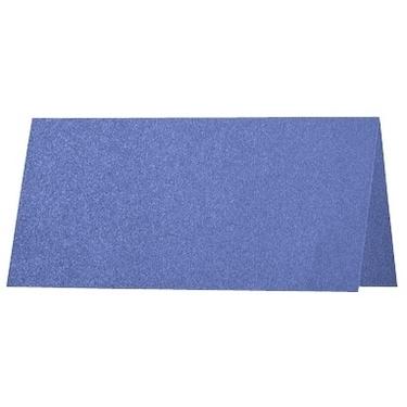 Artoz Perle - 'Royal Blue' Card. 132mm x 103mm 250gsm A7 Place Card.