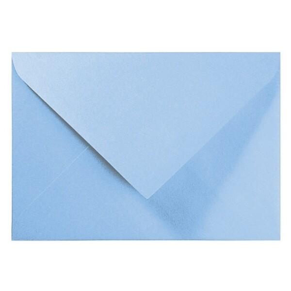 Artoz Perle - 'Water Blue' Envelope. 110mm x 75mm 120gsm C7 Gummed Envelope.