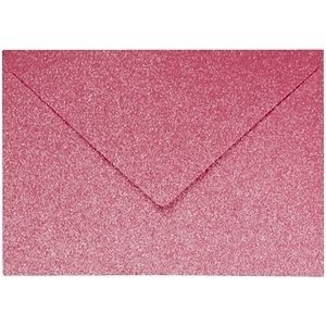 Artoz Perle - 'Red' Envelope. 110mm x 75mm 120gsm C7 Gummed Envelope.