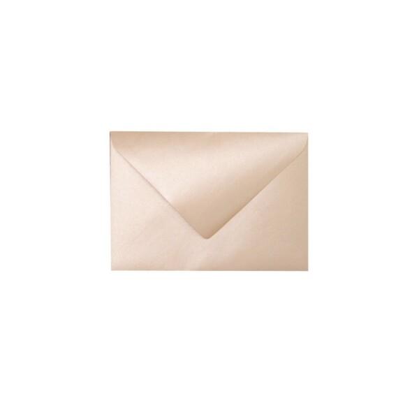 Artoz Perle - 'Peach' Envelope. 110mm x 75mm 120gsm C7 Gummed Envelope.