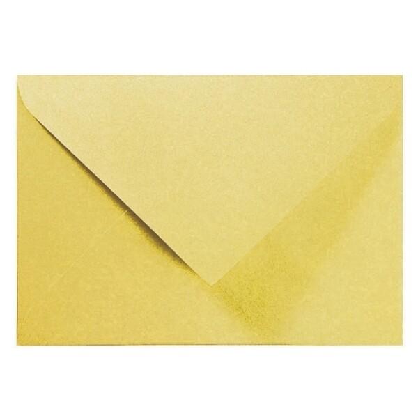 Artoz Perle - 'Gold' Envelope. 110mm x 75mm 120gsm C7 Gummed Envelope.