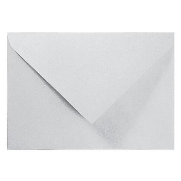 Artoz Perle - 'Silver' Envelope. 110mm x 75mm 120gsm C7 Gummed Envelope.