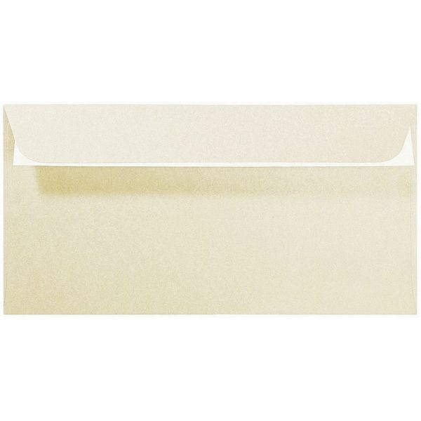 Artoz Perle - 'Ivory' Envelope. 224mm x 114mm 120gsm DL Peel/Seal Envelope.