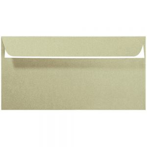 Artoz Perle - 'Pistachio' Envelope. 224mm x 114mm 120gsm DL Peel/Seal Envelope.