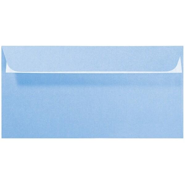 Artoz Perle - 'Water Blue' Envelope. 224mm x 114mm 120gsm DL Peel/Seal Envelope.
