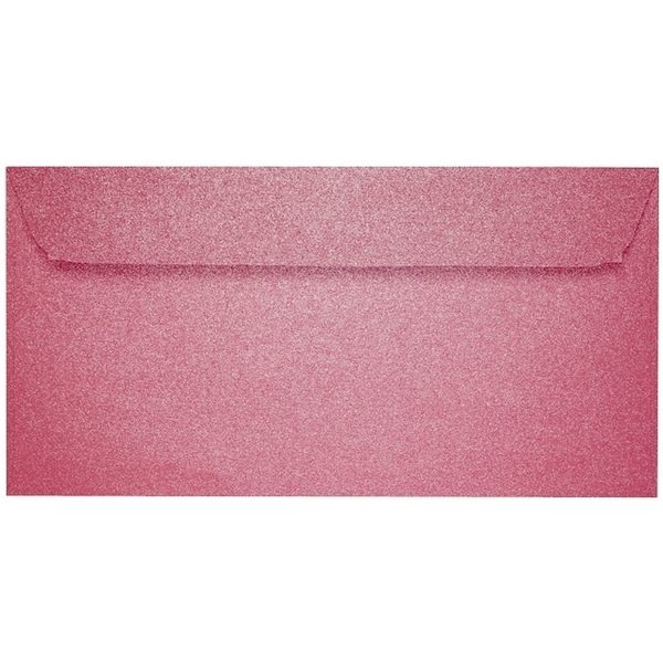 Artoz Perle - 'Red' Envelope. 224mm x 114mm 120gsm DL Peel/Seal Envelope.