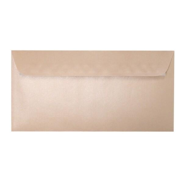 Artoz Perle - 'Peach' Envelope. 224mm x 114mm 120gsm DL Peel/Seal Envelope.
