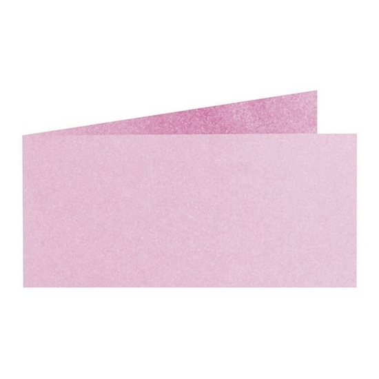 Artoz Perle - 'Ballerina' Card. 420mm x 105mm 250gsm DL Bi-Fold (Short Edge) Card.