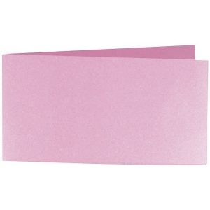 Artoz Perle - 'Princess' Card. 420mm x 105mm 250gsm DL Bi-Fold (Short Edge) Card.