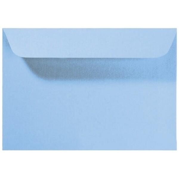 Artoz Perle - 'Water Blue' Envelope. 162mm x 114mm 120gsm C6 Peel/Seal Envelope.