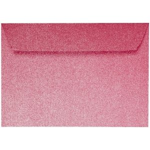 Artoz Perle - 'Red' Envelope. 162mm x 114mm 120gsm C6 Peel/Seal Envelope.