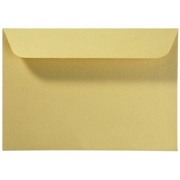 Artoz Perle - 'Gold' Envelope. 162mm x 114mm 120gsm C6 Peel/Seal Envelope.