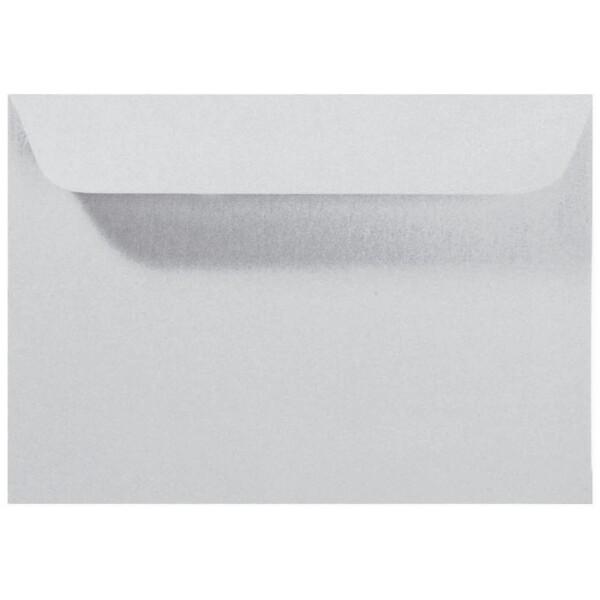 Artoz Perle - 'Silver' Envelope. 162mm x 114mm 120gsm C6 Peel/Seal Envelope.