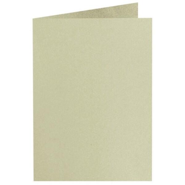 Artoz Perle - 'Pistachio' Card. 240mm x 169mm 250gsm B6 Bi-Fold (Long Edge) Card.