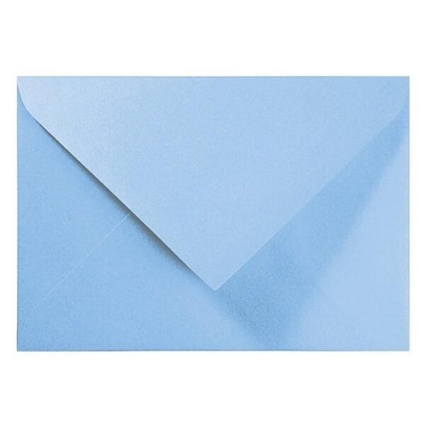 Artoz Perle - 'Water Blue' Envelope. 178mm x 125mm 120gsm B6 Gummed Envelope.