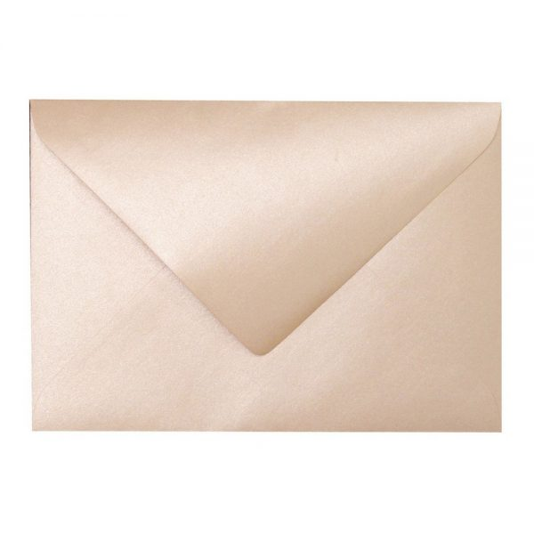 Artoz Perle - 'Peach' Envelope. 178mm x 125mm 120gsm B6 Gummed Envelope.