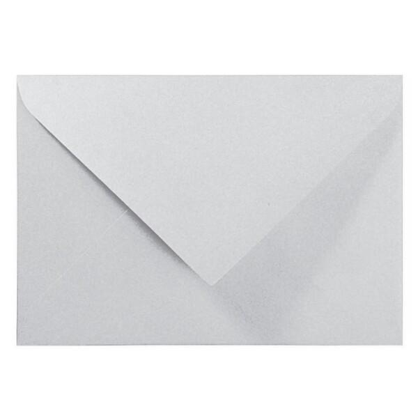 Artoz Perle - 'Silver' Envelope. 178mm x 125mm 120gsm B6 Gummed Envelope.