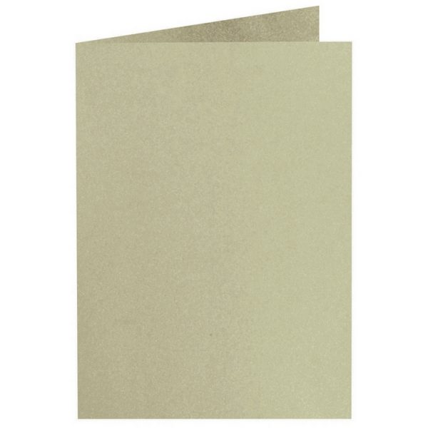 Artoz Perle - 'Pistachio' Card. 250mm x 180mm 250gsm E6 Bi-Fold (Long Edge) Card.