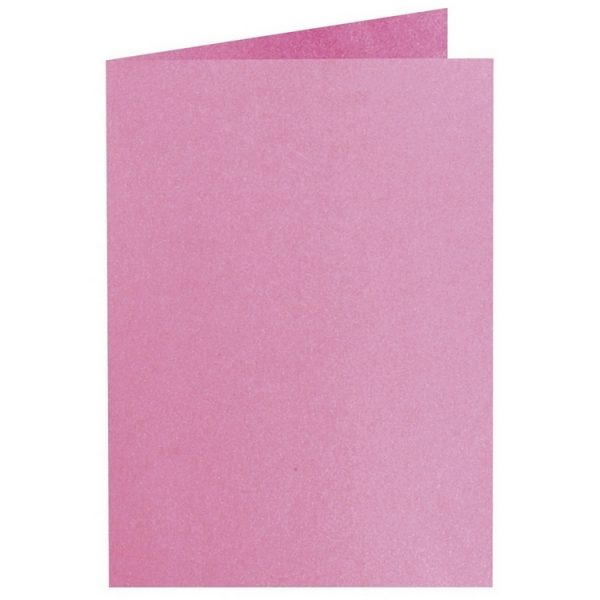 Artoz Perle - 'Princess' Card. 250mm x 180mm 250gsm E6 Bi-Fold (Long Edge) Card.