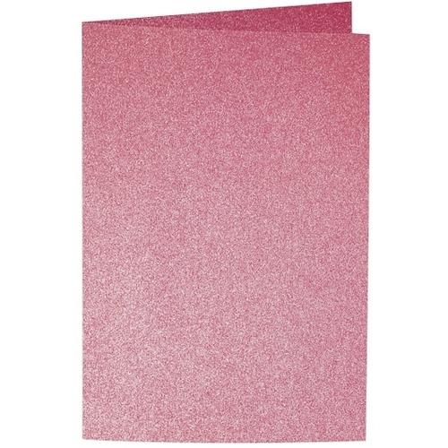 Artoz Perle - 'Red' Card. 250mm x 180mm 250gsm E6 Bi-Fold (Long Edge) Card.