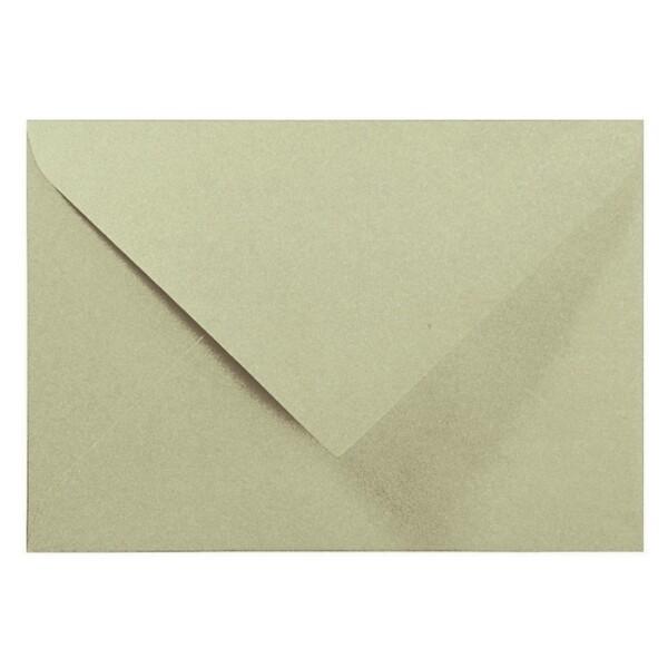 Artoz Perle - 'Pistachio' Envelope. 191mm x 135mm 120gsm E6 Gummed Envelope.