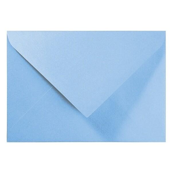 Artoz Perle - 'Water Blue' Envelope. 191mm x 135mm 120gsm E6 Gummed Envelope.