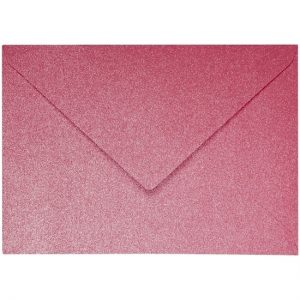Artoz Perle - 'Red' Envelope. 191mm x 135mm 120gsm E6 Gummed Envelope.