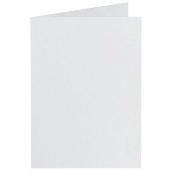 Artoz Perle - 'White' Card. 297mm x 210mm 250gsm A5 Folded (Long Edge) Card.