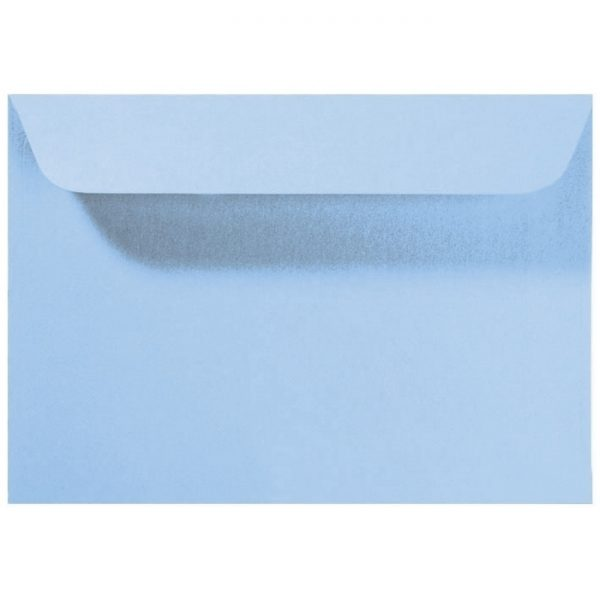 Artoz Perle - 'Water Blue' Envelope. 229mm x 162mm 120gsm C5 Peel/Seal Envelope.