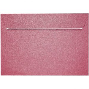 Artoz Perle - 'Red' Envelope. 229mm x 162mm 120gsm C5 Peel/Seal Envelope.
