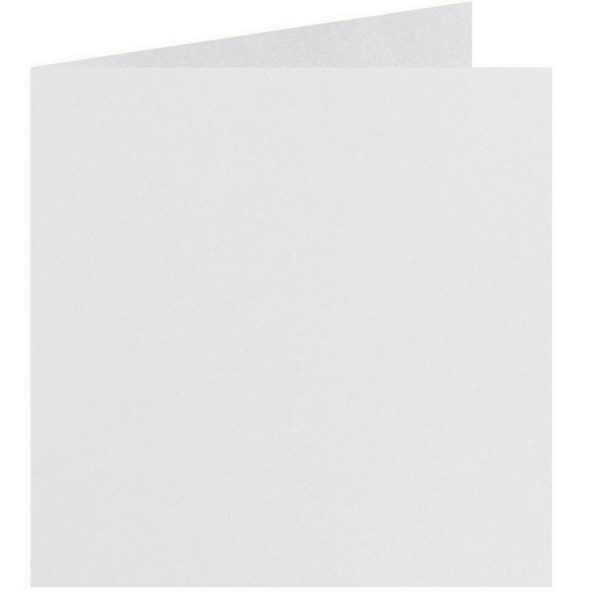 Artoz Perle - 'White' Card. 310mm x 155mm 250gsm Square Folded Card.