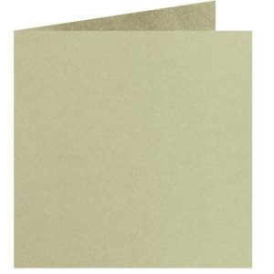 Artoz Perle - 'Pistachio' Card. 310mm x 155mm 250gsm Square Folded Card.