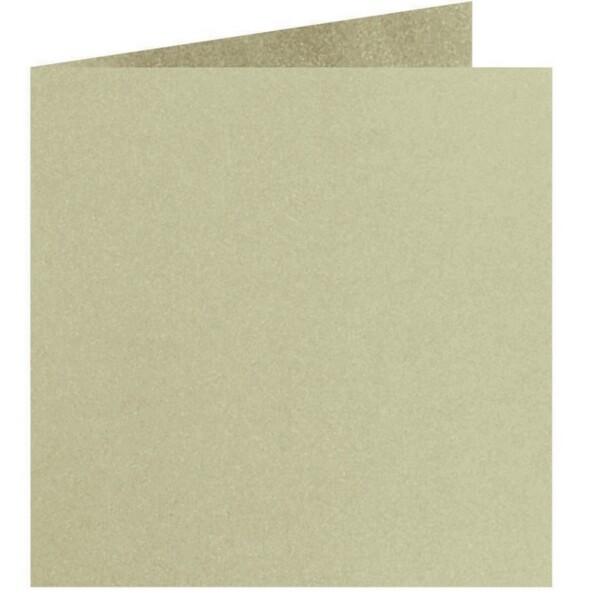 Artoz Perle - 'Pistachio' Card. 310mm x 155mm 250gsm Square Folded Card.