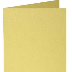 Artoz Perle - 'Gold' Card. 310mm x 155mm 250gsm Square Folded Card.