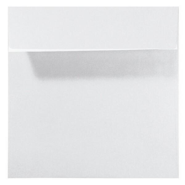 Artoz Perle - 'White' Envelope. 160mm x 160mm 120gsm Square Peel/Seal Envelope.