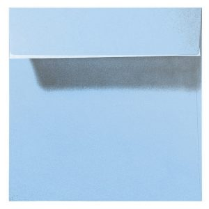 Artoz Perle - 'Water Blue' Envelope. 160mm x 160mm 120gsm Square Peel/Seal Envelope.