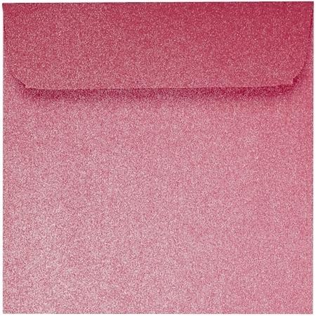 Artoz Perle - 'Red' Envelope. 160mm x 160mm 120gsm Square Peel/Seal Envelope.
