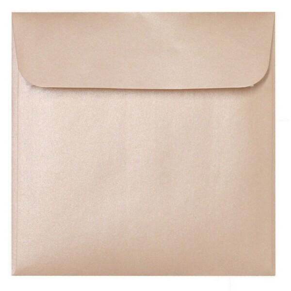 Artoz Perle - 'Peach' Envelope. 160mm x 160mm 120gsm Square Peel/Seal Envelope.