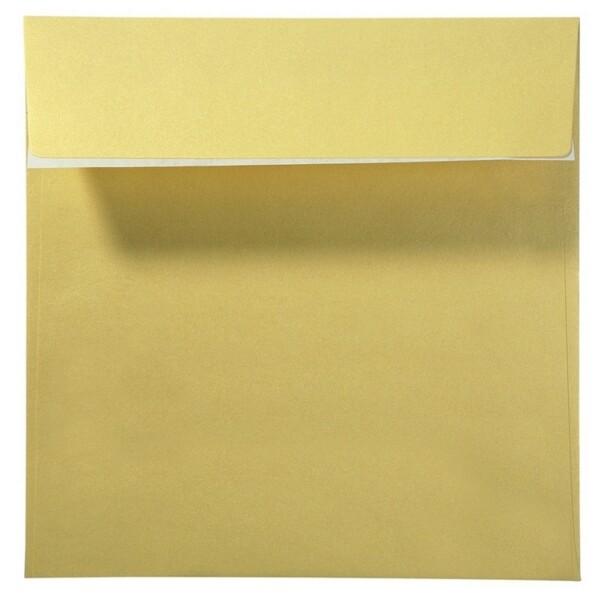 Artoz Perle - 'Gold' Envelope. 160mm x 160mm 120gsm Square Peel/Seal Envelope.